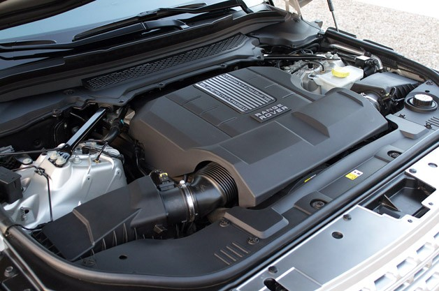 2013 Land Rover Range Rover engine