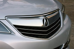 2014 Acura RLX grille
