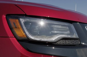 2014 Jeep Grand Cherokee SRT headlight