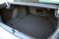 2014 Acura RLX trunk