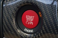 2014 Jeep Grand Cherokee SRT start button