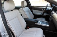 2014 Mercedes-Benz E-Class front seats