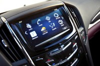 2013 Cadillac ATS 3.6 AWD infotainment system