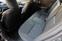 2013 Honda Civic rear seats