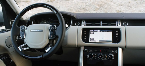 2013 Land Rover Range Rover interior
