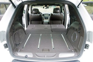 2014 Jeep Grand Cherokee EcoDiesel rear cargo area