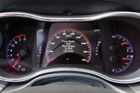 2014 Jeep Grand Cherokee SRT gauges