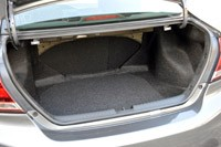 2013 Honda Civic trunk