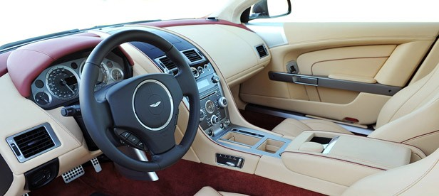 2013 Aston Martin DB9 interior