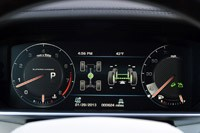 2013 Land Rover Range Rover gauges