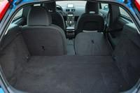 2013 Volvo C30 R-Design Polestar Limited Edition rear cargo area