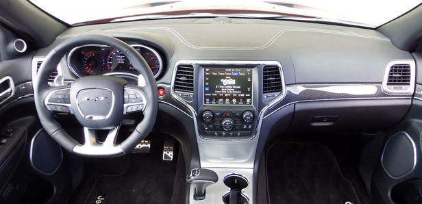 2014 Jeep Grand Cherokee SRT Interior ...
