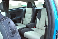 2013 Volvo C30 R-Design Polestar Limited Edition rear seats