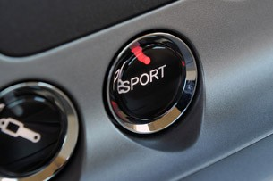 2013 Aston Martin DB9 sport button