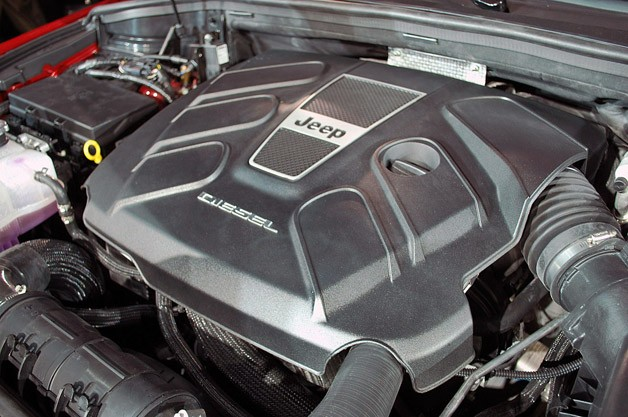 2014 Jeep Grand Cherokee EcoDiesel engine
