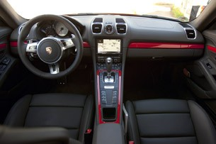 2014 Porsche Cayman S interior