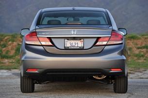 2013 Honda Civic rear view