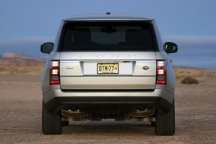 2013 Land Rover Range Rover rear view
