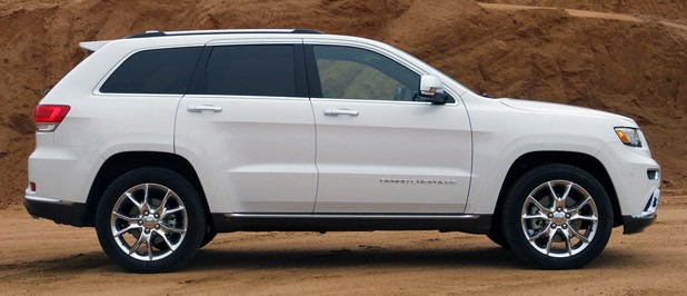 2014 Jeep Grand Cherokee EcoDiesel side view