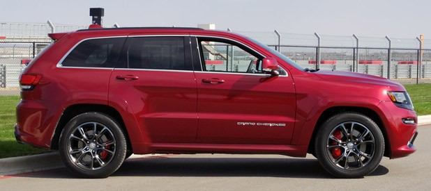 2014 Jeep Grand Cherokee SRT side view