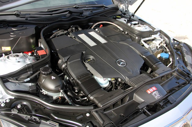 2014 Mercedes-Benz E-Class engine
