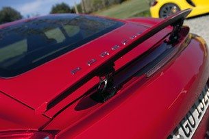 2014 Porsche Cayman S rear spoiler