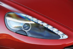 2013 Aston Martin DB9 headlight