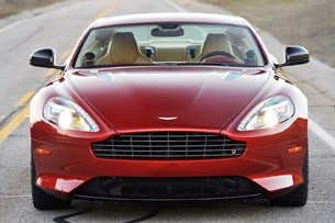 2013 Aston Martin DB9 front view