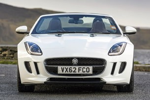 2014 Jaguar F-Type front view