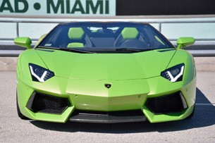 2013 Lamborghini Aventador LP 700-4 Roadster front view