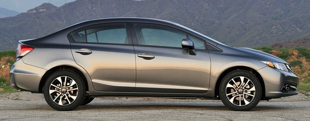 2013 Honda Civic side view