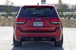 2014 Jeep Grand Cherokee SRT rear view