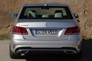 2014 Mercedes-Benz E-Class rear view
