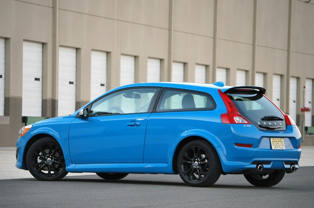 2013 Volvo R-Design Polestar Limited Edition rear 3/4 view
