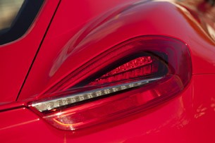 2014 Porsche Cayman S taillight