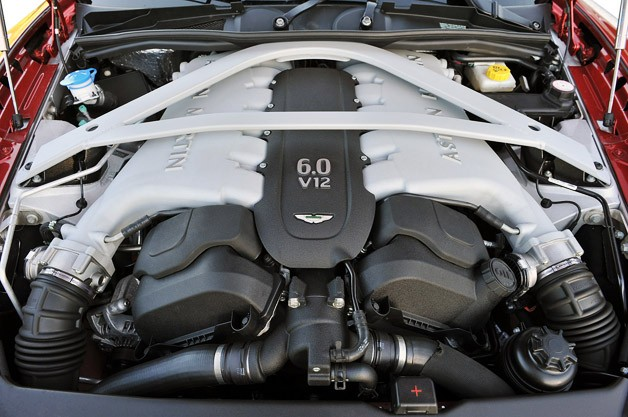 2013 Aston Martin DB9 engine