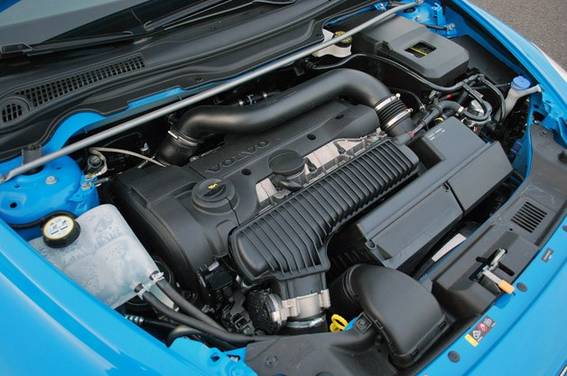 2013 Volvo C30 R-Design Polestar Limited Edition engine