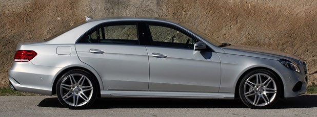 2014 Mercedes-Benz E-Class side view