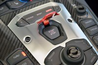 2013 Lamborghini Aventador LP 700-4 Roadster start button