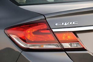 2013 Honda Civic taillight
