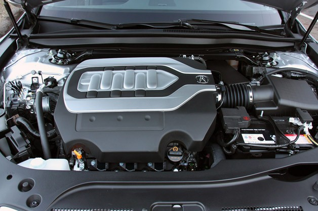 2014 Acura RLX engine