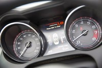 2014 Jaguar F-Type gauges