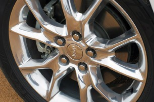 2014 Jeep Grand Cherokee EcoDiesel wheel