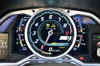2013 Lamborghini Aventador LP 700-4 Roadster gauges