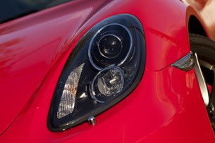 2014 Porsche Cayman S headlight
