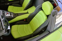 2013 Lamborghini Aventador LP 700-4 Roadster seats