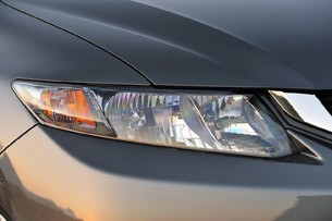 2013 Honda Civic headlight