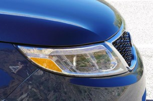 2014 Kia Sorento headlight