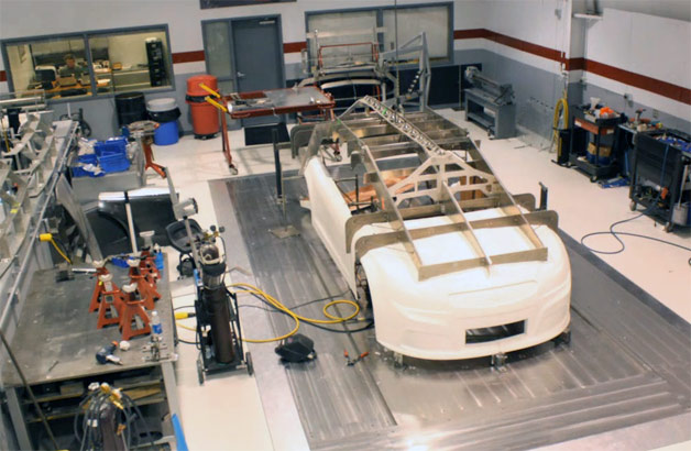 Image: Time-lapse build of the Chevy SS for NASCAR