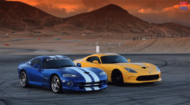 Old vs. New Viper - C/D video screencap